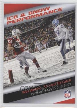 2013 Panini Bridgestone Performance Moment - [Base] #N/A - Wes Welker