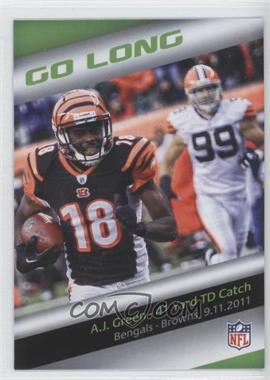 2013 Panini Bridgestone Performance Moment #N/A - A.J. Green