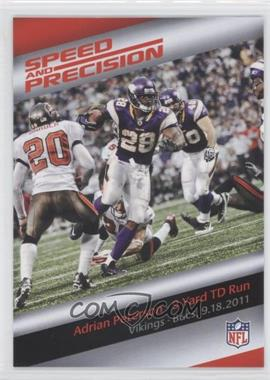 2013 Panini Bridgestone Performance Moment #N/A - Adrian Peterson