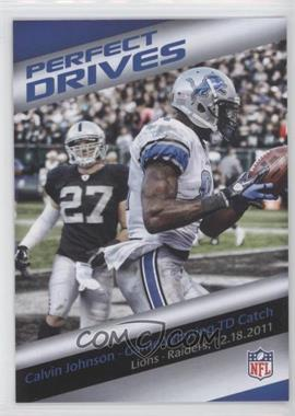 2013 Panini Bridgestone Performance Moment #N/A - Calvin Johnson