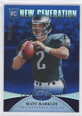 2013 Panini Certified - [Base] - Mirror Blue #266 - New Generation - Matt Barkley /100