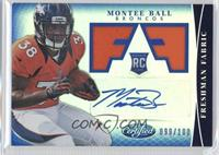 Freshman Fabric Signatures - Montee Ball /100