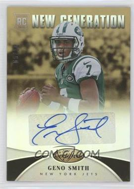 2013 Panini Certified - [Base] - Mirror Gold Signatures [Autographed] #235 - New Generation - Geno Smith /10