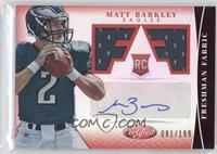 Freshman Fabric Signatures - Matt Barkley /199