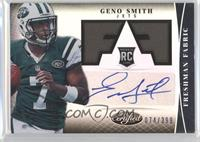 Freshman Fabric Signatures - Geno Smith /399