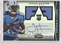 Freshman Fabric Signatures - Justin Hunter /399