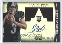 Freshman Fabric Signatures - Landry Jones /499