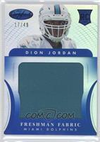 Freshman Fabric Jumbo - Dion Jordan /49