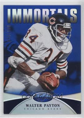 2013 Panini Certified Mirror Blue #199 - Immortals - Walter Payton /100