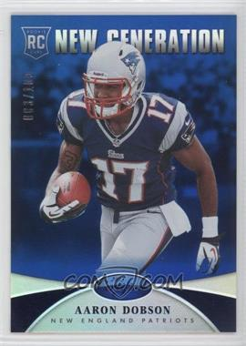 2013 Panini Certified Mirror Blue #201 - New Generation - Aaron Dobson /100