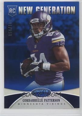 2013 Panini Certified Mirror Blue #216 - Cordarrelle Patterson /100