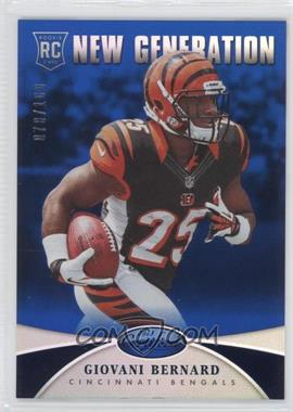 2013 Panini Certified Mirror Blue #236 - New Generation - Giovani Bernard /100