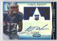 Freshman Fabric Signatures - Aaron Dobson /100
