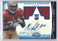 Freshman Fabric Signatures - Marcus Lattimore /100