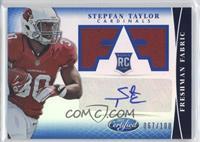 Freshman Fabric Signatures - Stepfan Taylor /100