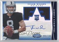 Freshman Fabric Signatures - Tyler Wilson /100
