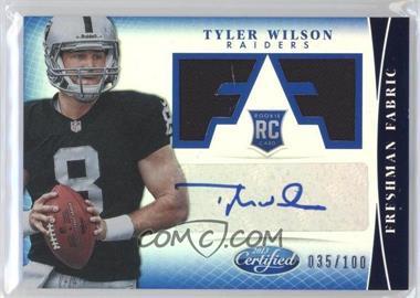 2013 Panini Certified Mirror Blue #338 - Tyler Wilson /100