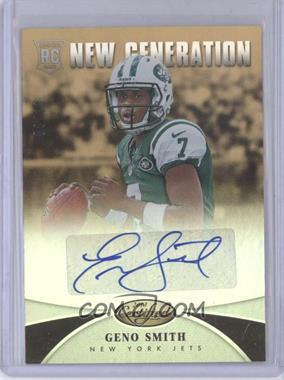2013 Panini Certified Mirror Gold Signatures [Autographed] #235 - New Generation - Geno Smith /10
