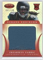 Denard Robinson /149