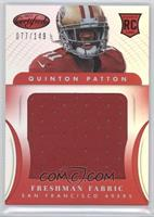 Freshman Fabric Jumbo - Quinton Patton /149