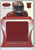Freshman Fabric Jumbo - Quinton Patton /149
