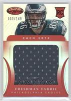 Freshman Fabric Jumbo - Zach Ertz /149