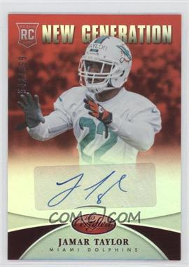 2013 Panini Certified Mirror Red Signatures [Autographed] #237 - New Generation - Jamar Taylor /999