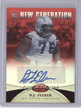 2013 Panini Certified Mirror Red Signatures [Autographed] #258 - New Generation - D.J. Fluker /999