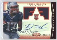 Freshman Fabric Signatures - Aaron Dobson /199