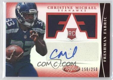 2013 Panini Certified Mirror Red #303 - Christine Michael /250