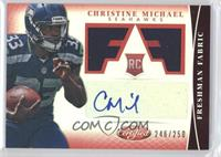 Freshman Fabric Signatures - Christine Michael /250