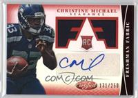 Freshman Fabric Signatures - Christine Michael /250