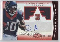 Freshman Fabric Signatures - DeAndre Hopkins /250