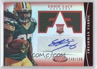 Freshman Fabric Signatures - Eddie Lacy /199