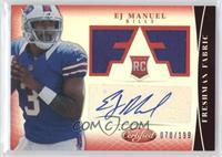Freshman Fabric Signatures - EJ Manuel /199