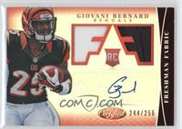 Freshman Fabric Signatures - Giovani Bernard /250