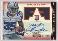 Freshman Fabric Signatures - Joseph Randle /250