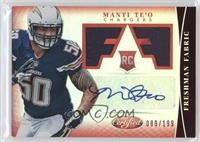 Freshman Fabric Signatures - Manti Te'o /199