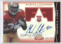 Freshman Fabric Signatures - Marcus Lattimore /250
