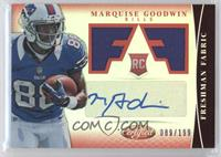 Freshman Fabric Signatures - Marquise Goodwin /199