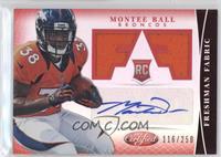 Freshman Fabric Signatures - Montee Ball /250