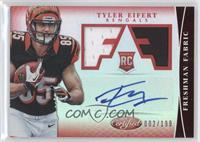 Freshman Fabric Signatures - Tyler Eifert /199