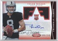 Freshman Fabric Signatures - Tyler Wilson /250