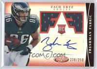 Freshman Fabric Signatures - Zach Ertz /250