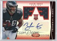 Freshman Fabric Signatures - Zach Ertz /250