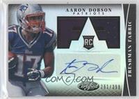 Freshman Fabric Signatures - Aaron Dobson /399