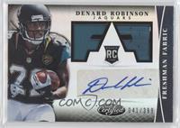 Freshman Fabric Signatures - Denard Robinson /399