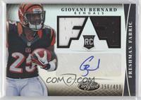 Freshman Fabric Signatures - Giovani Bernard /499