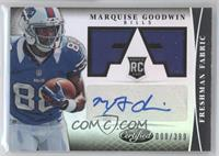 Freshman Fabric Signatures - Marquise Goodwin /399