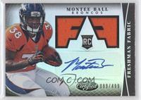 Freshman Fabric Signatures - Montee Ball /499